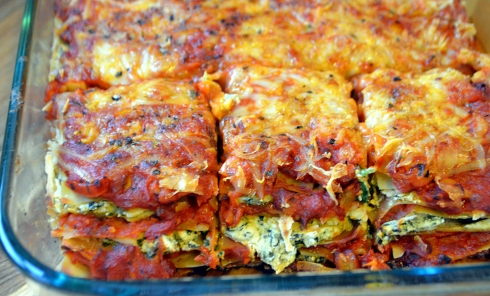 Vegetable Lasagna with Cashew Ricotta