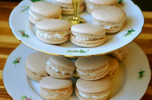 cinnamon and sugar macarons