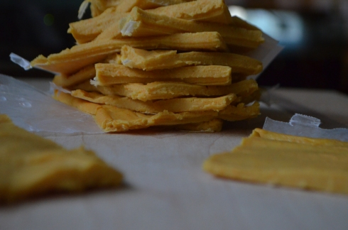 Potato Carrot Cheese Slices