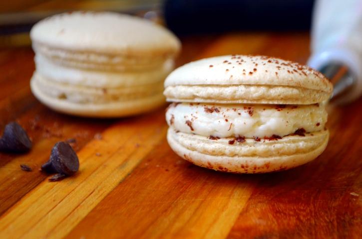 Vegan Tiramisu Macarons