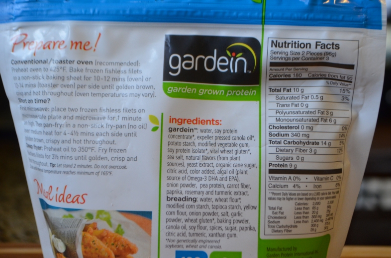Review: Gardein Fishless Filets