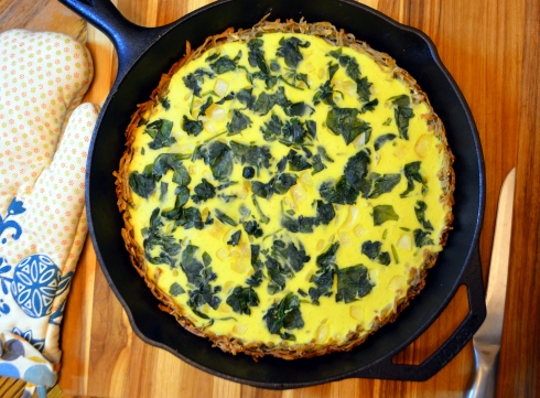 Quiche with VeganEgg by Follow Your Heart