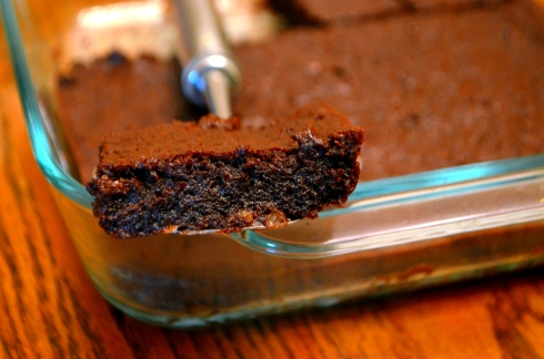 Perfect, Fudgey, Crispy Vegan Brownies