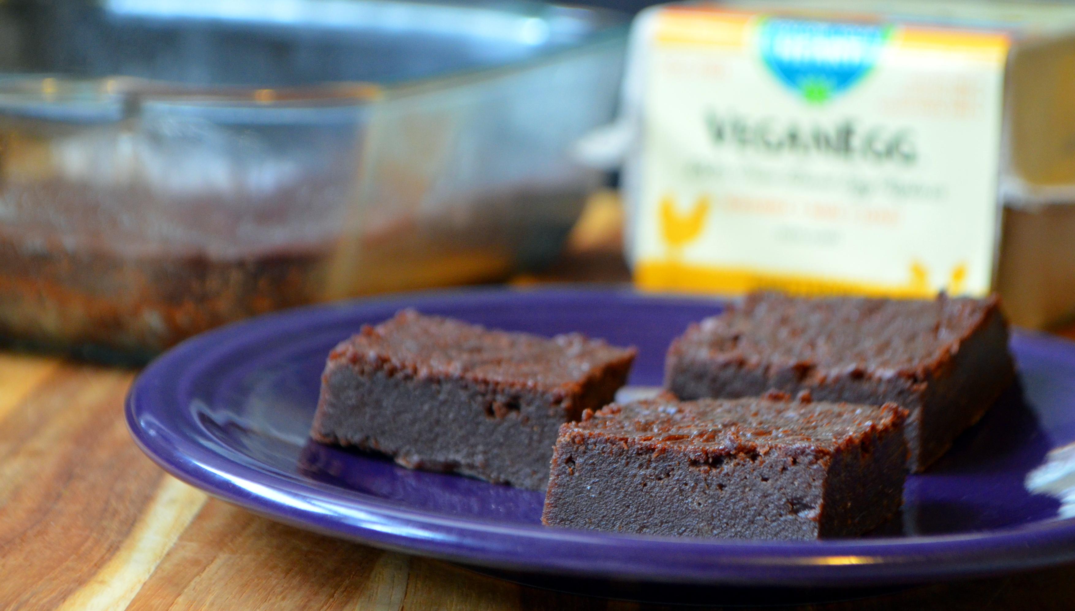 Perfect, Fudgey, Crispy Vegan Brownies