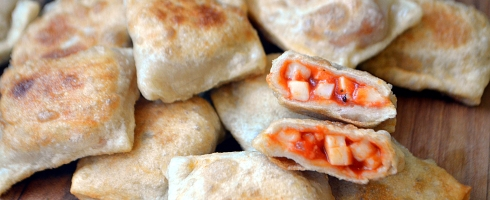 Vegan Pizza Rolls