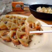 Mapo Tofu Inspired Dumplings